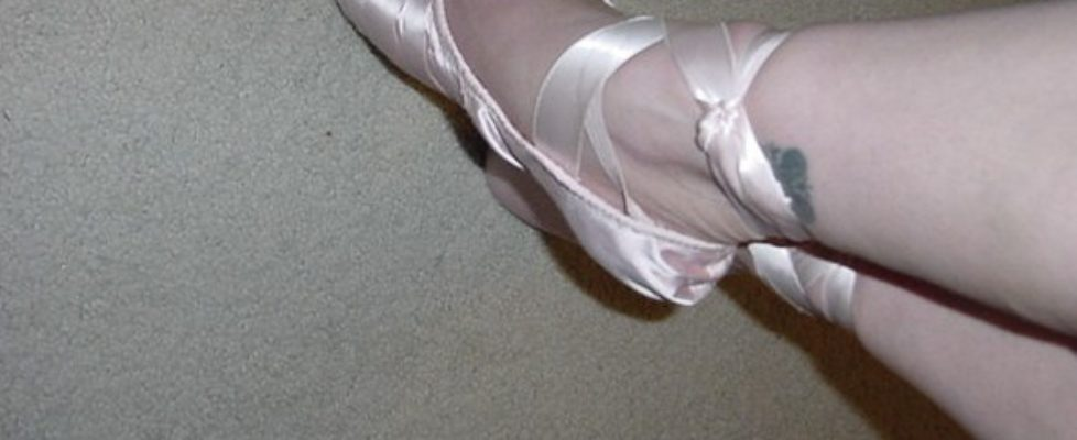 Pulled out the pointe shoes…