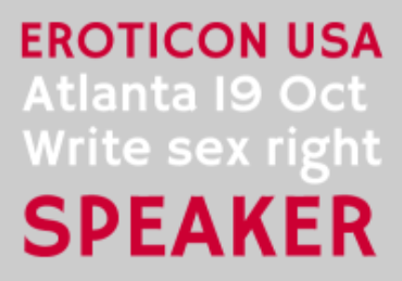 Eroticon USA is this weekend!