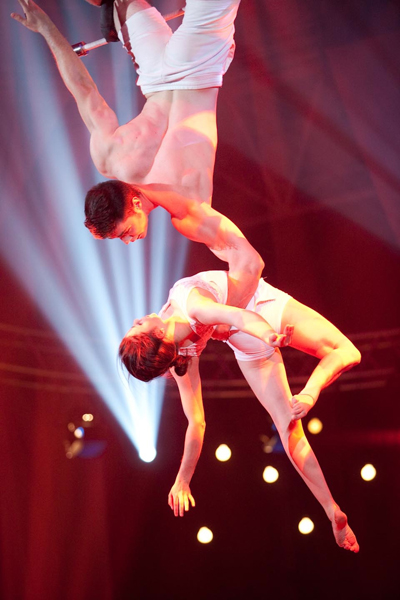 trapeze couple